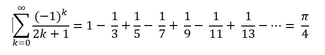 Leibniz-Reihe
